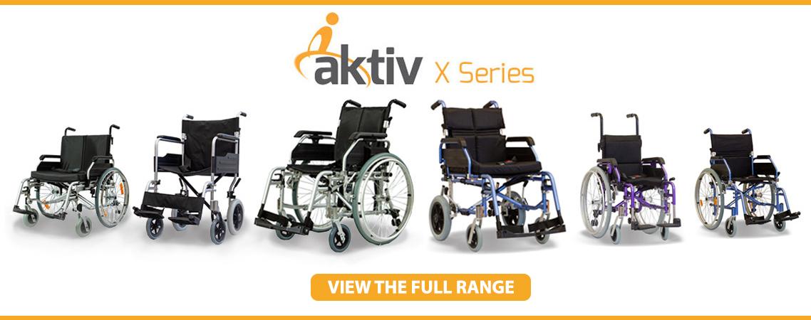 Aktiv Wheelchair Range