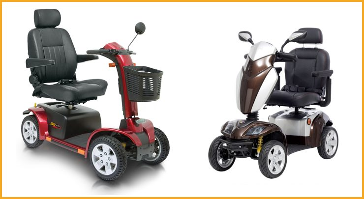 Large Sized Mobility Scooter